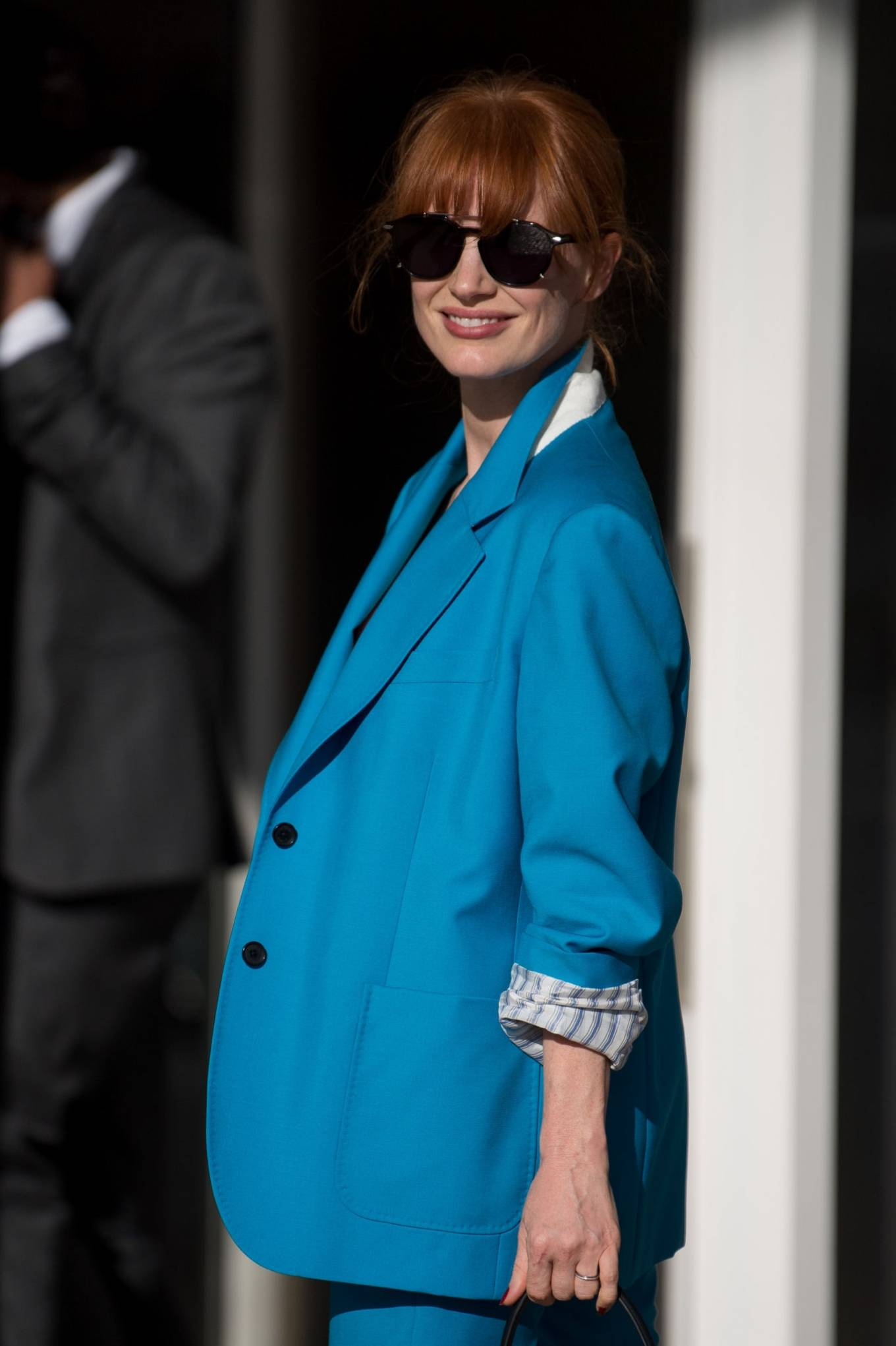 Jessica Chastain 2021 : Jessica Chastain – is spotted out and about during the festival in Cannes-08