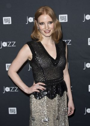 Jessica Chastain - Jazz at Lincoln Center 2016 Gala 'Jazz and Broadway' in NY