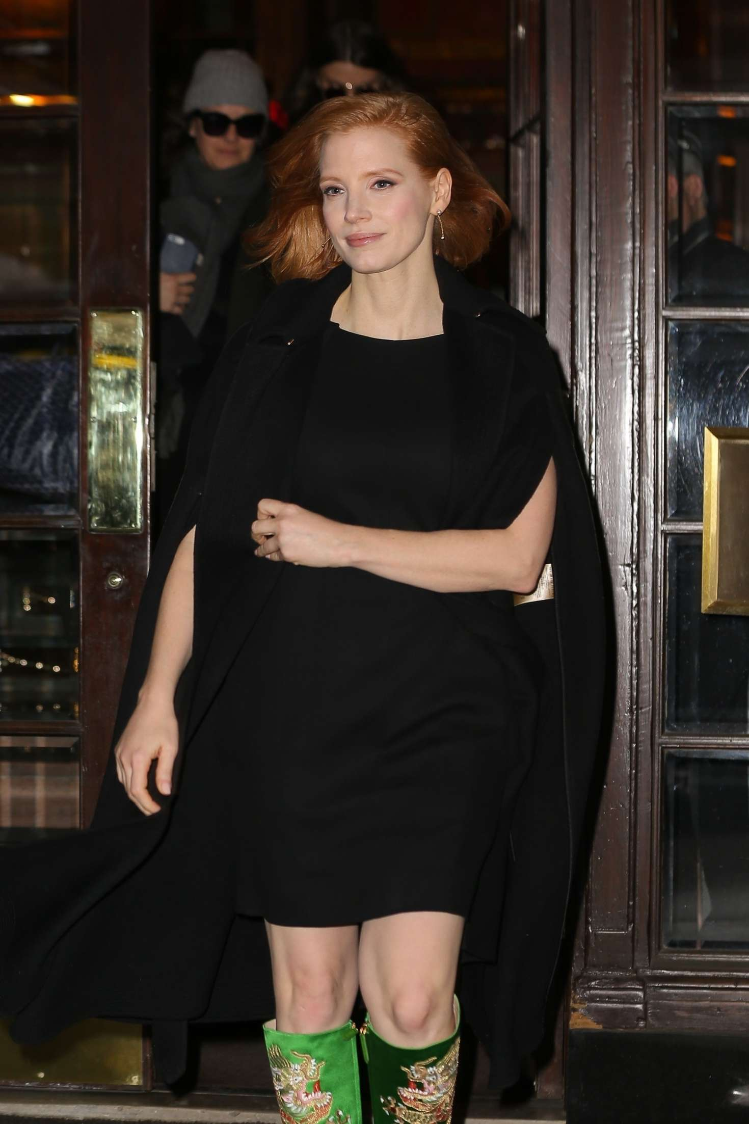 Jessica Chastain - Leaves a hotel in New York