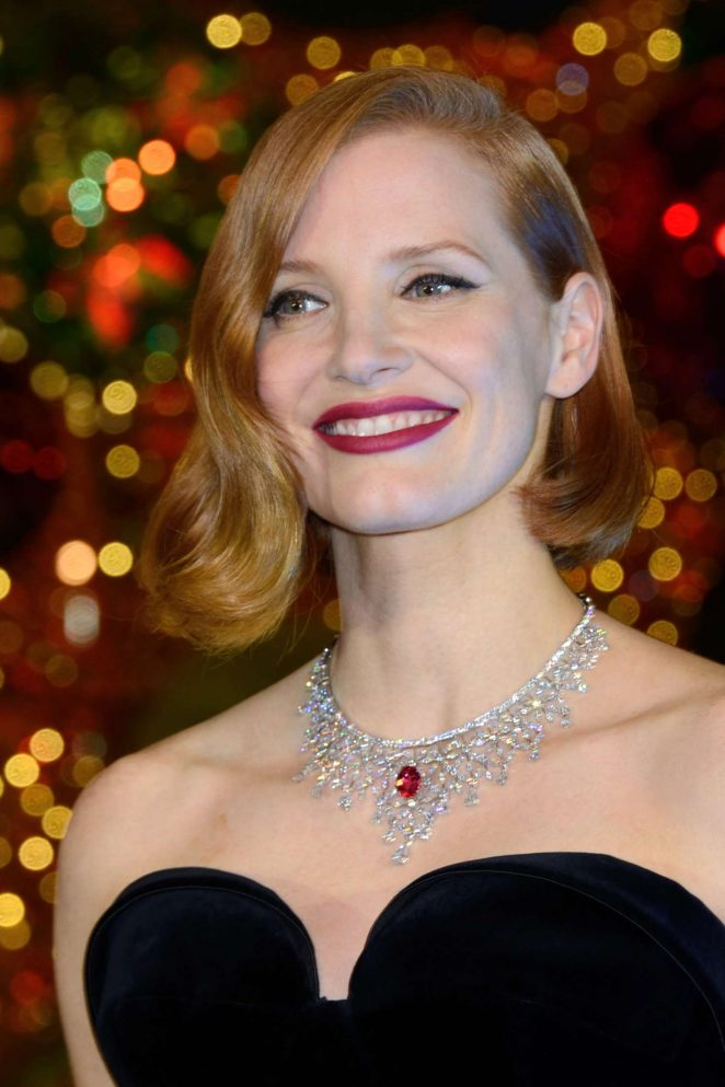 Jessica Chastain: Les Galeries Lafayette Christmas Decorations ...