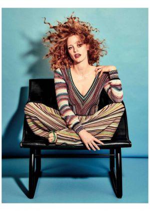 Jessica Chastain - Madame Figaro Magazine (January 2018)