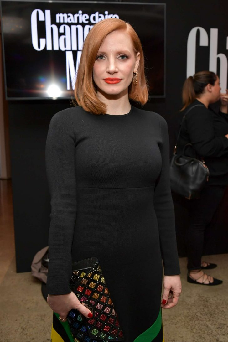 Jessica Chastain - Marie Claire Honors Hollwood's Change Makers in LA
