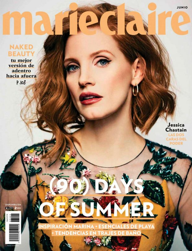 Jessica Chastain - Marie Claire Mexico (June 2019)