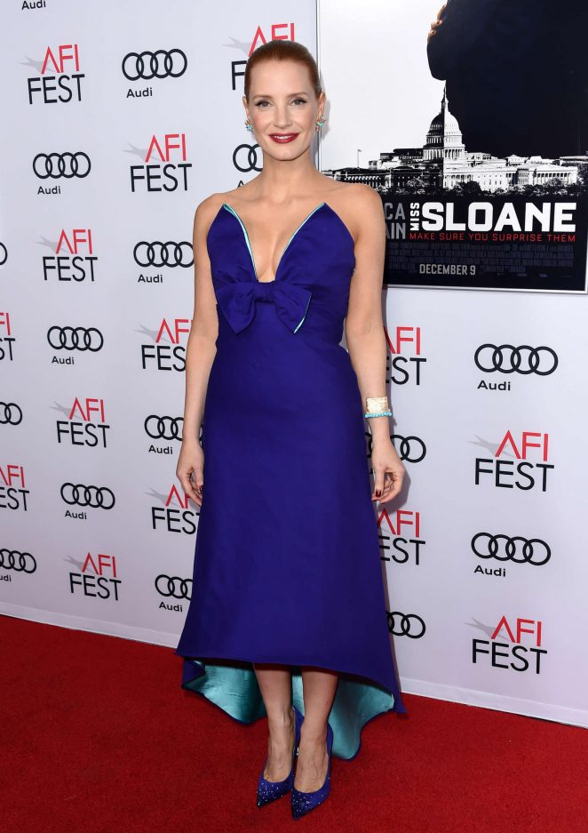 Jessica Chastain - 'Miss Sloane' Premiere at AFI Fest 2016 in Los Angeles