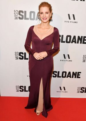 Jessica Chastain - 'Miss Sloane' Premiere in Toronto