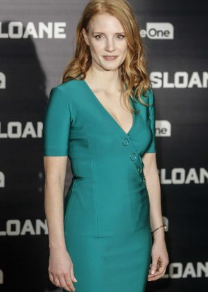 Jessica Chastain - 'Miss Sloane' Presetantion in Madrid