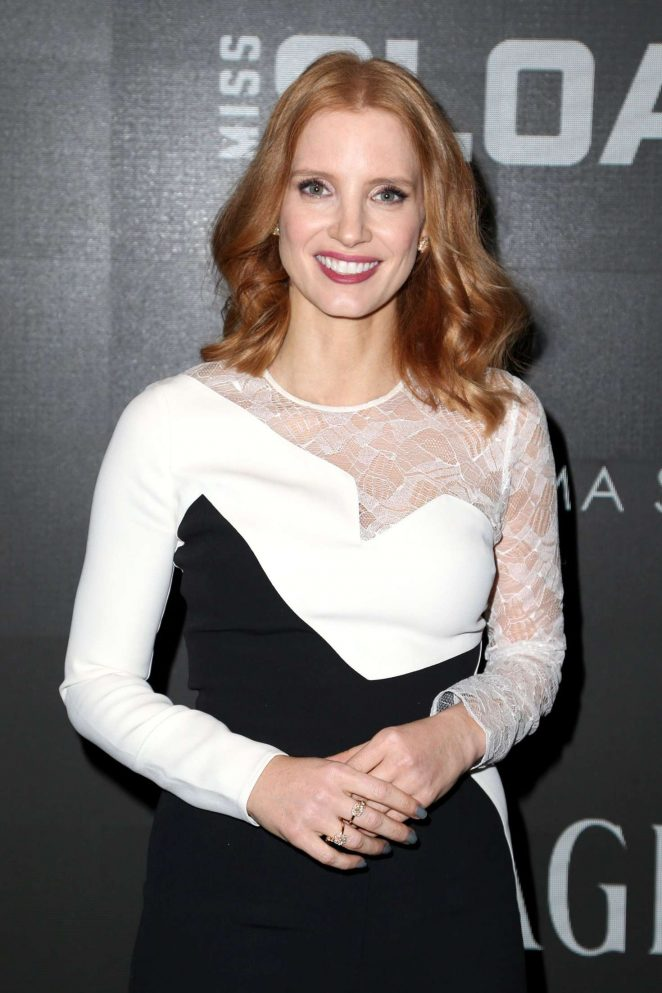 Jessica Chastain - 'Miss Sloane' Screening in New York