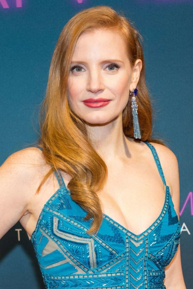 Jessica Chastain - 'Molly's Game' Premiere in Amsterdam
