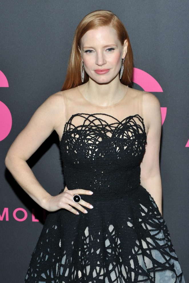 Jessica Chastain - 'Molly's Game' Premiere in New York City