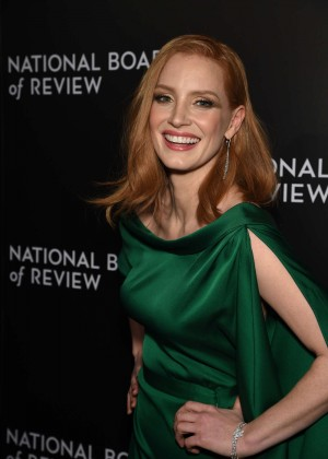 Jessica Chastain - National Board of Review Awards Gala 2016 in New ...