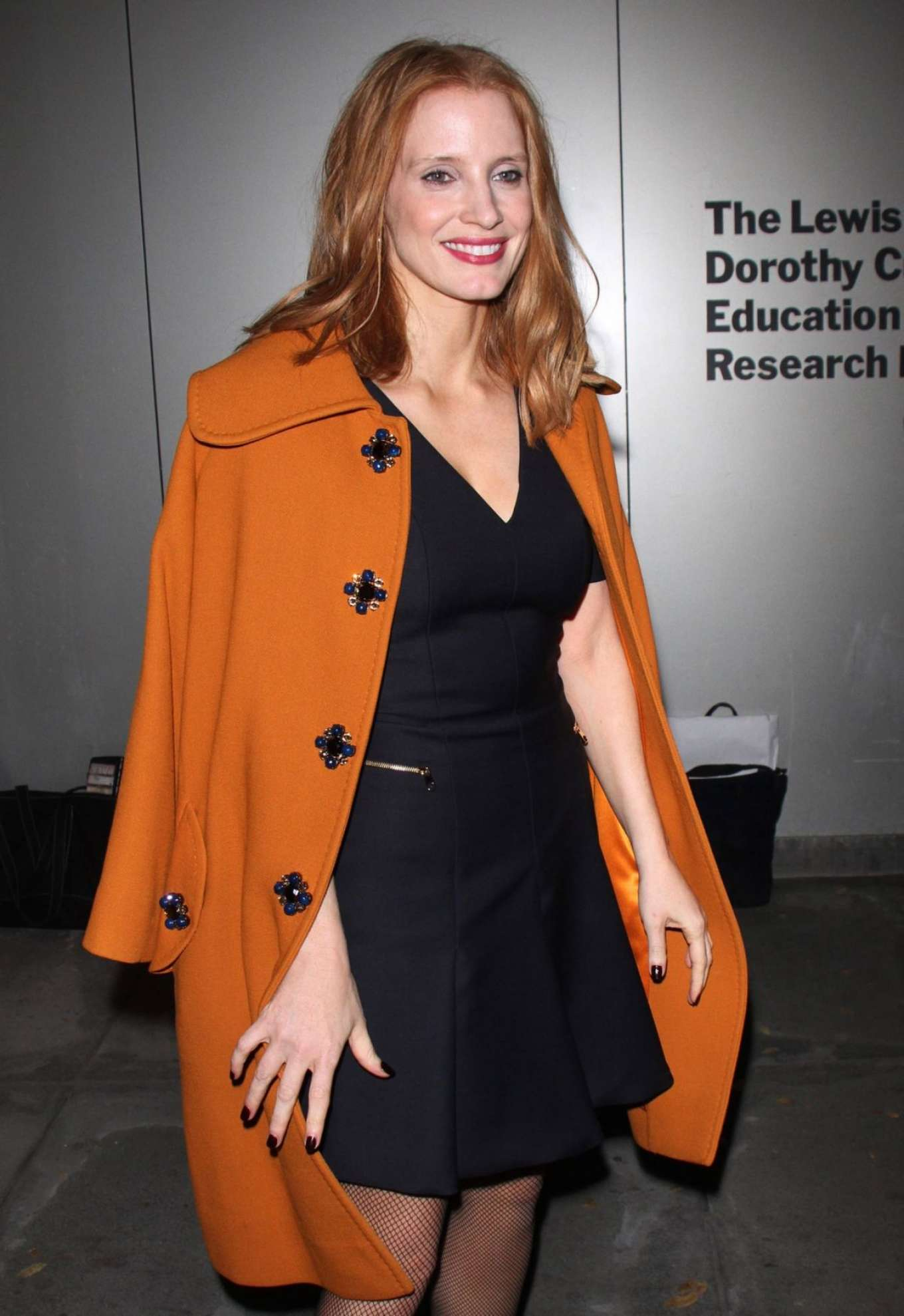 Jessica Chastain - Official Academy Screening Of 'Miss Sloane' in NYC