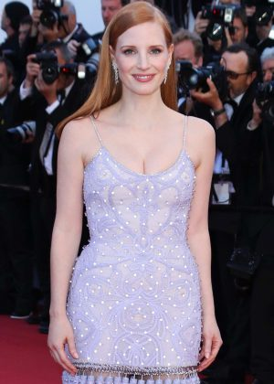 Jessica Chastain - 'Okja' Premiere at 70th annual Cannes Film Festival