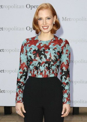 Jessica Chastain - Opening night of 'Otello' at the Metropolitan Opera House in NYC