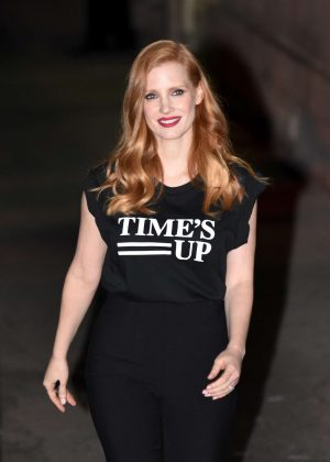 Jessica Chastain - Out and about in LA