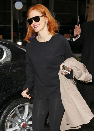 Jessica Chastain - Out and about in New York