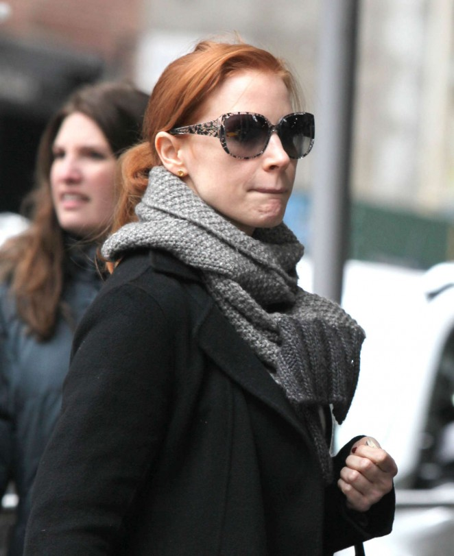 Jessica Chastain - Out and about in NYC