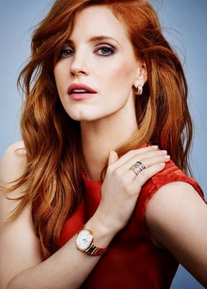 Jessica Chastain - Piaget Jewelry ad Campaign 2015