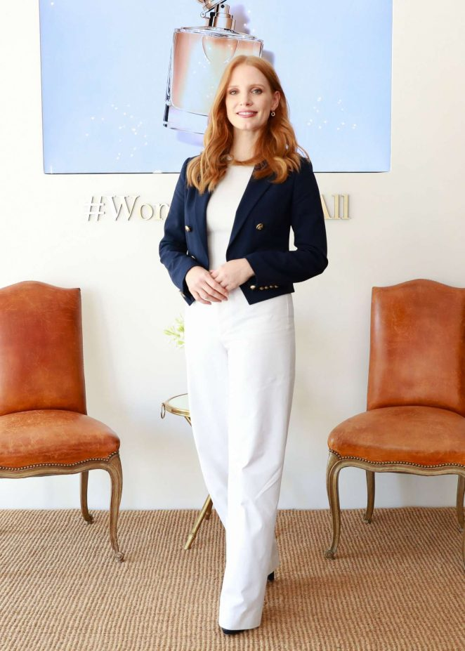 Jessica Chastain - Ralph Lauren Woman Launch breakfast in NY