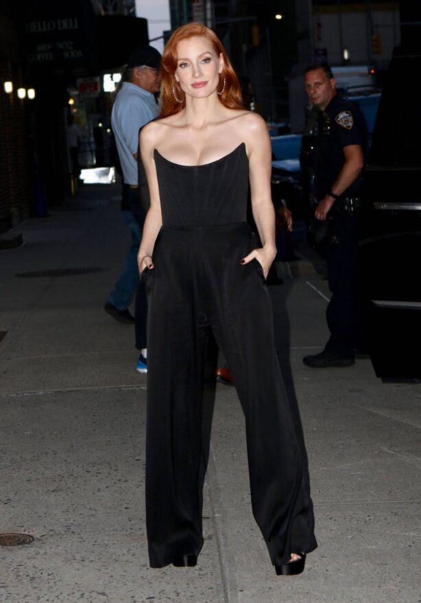 Jessica Chastain - Seen out in NYC