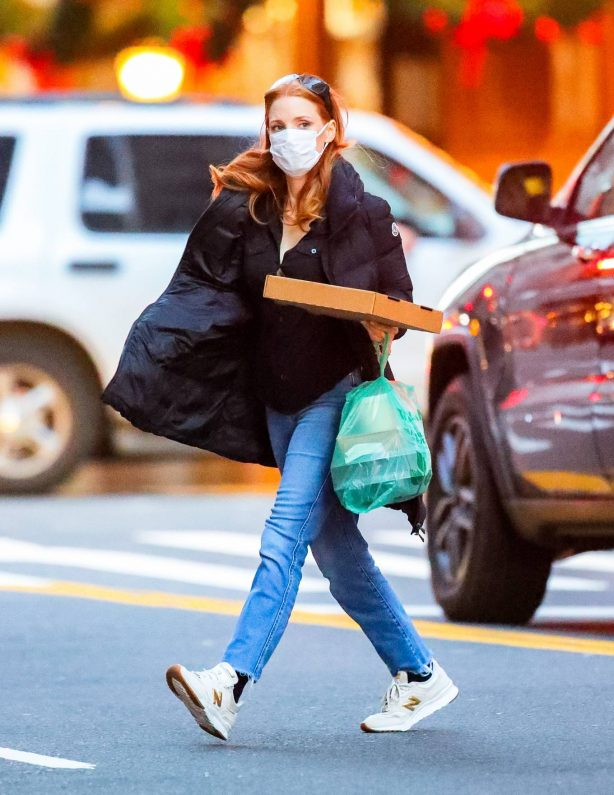 Jessica Chastain - Spotted in New York City