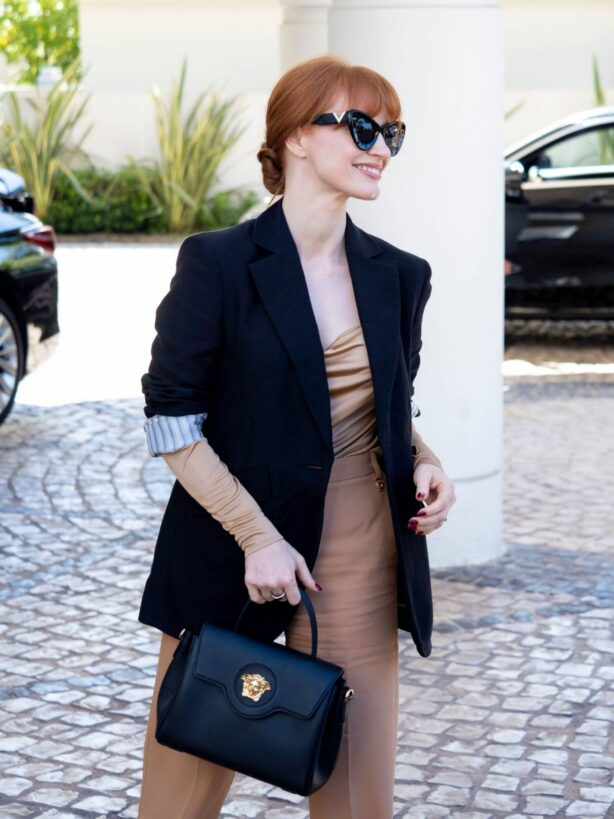 Jessica Chastain - Steps out at 74th Cannes Film Festival