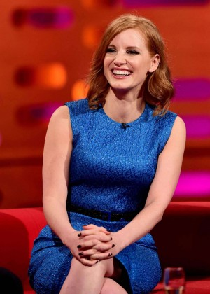 Jessica Chastain - 'The Graham Norton Show' in London