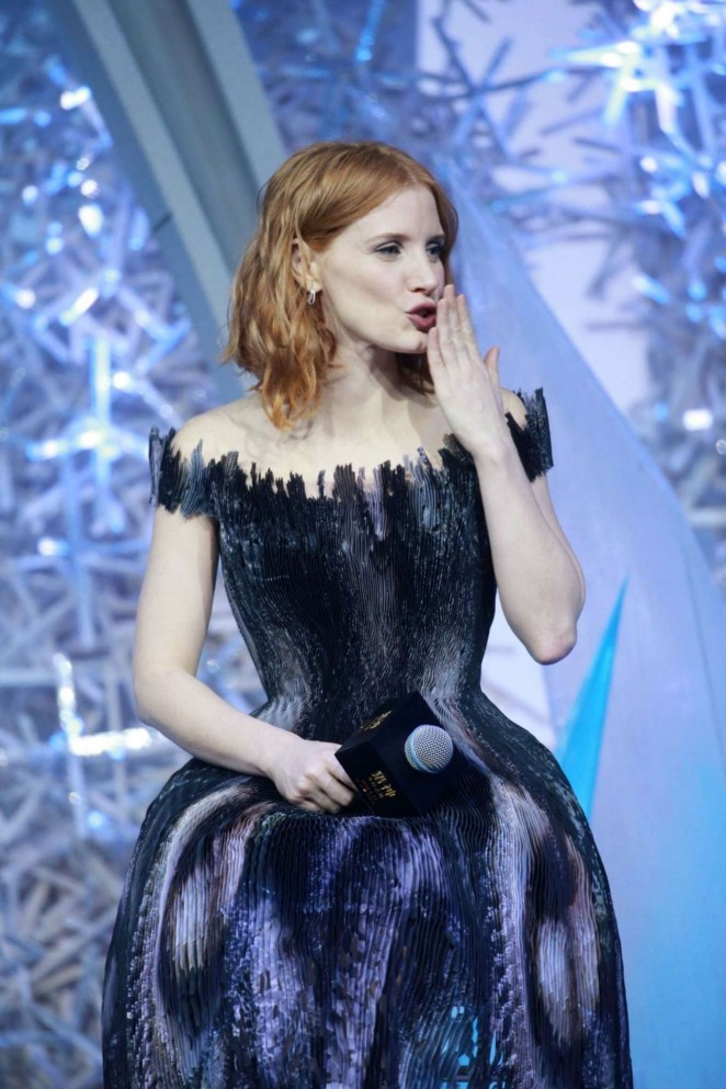 Jessica Chastain - 'The Huntsman: Winter's War' Premiere in Beijing