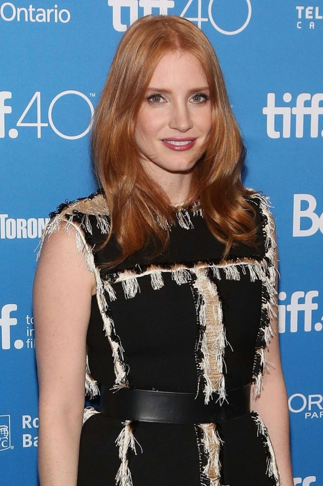 Jessica Chastain - 'The Martian' Photocall in Toronto