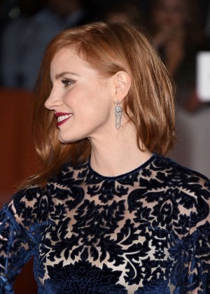 Jessica Chastain – 'The Martian' Premiere at the Toronto Film ...