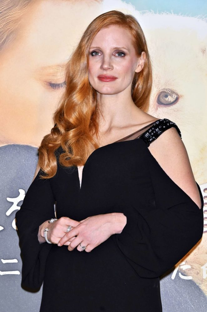 Jessica Chastain – 'The Zookeeper's Wife' Premiere in Tokyo