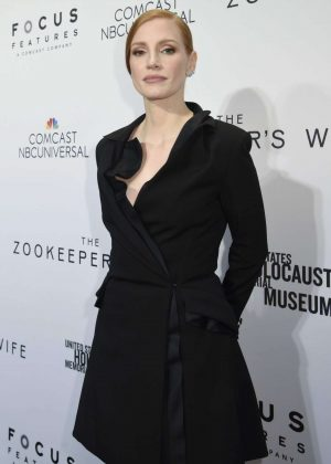 Jessica Chastain - 'The Zookeeper's Wife' Screening in Washington