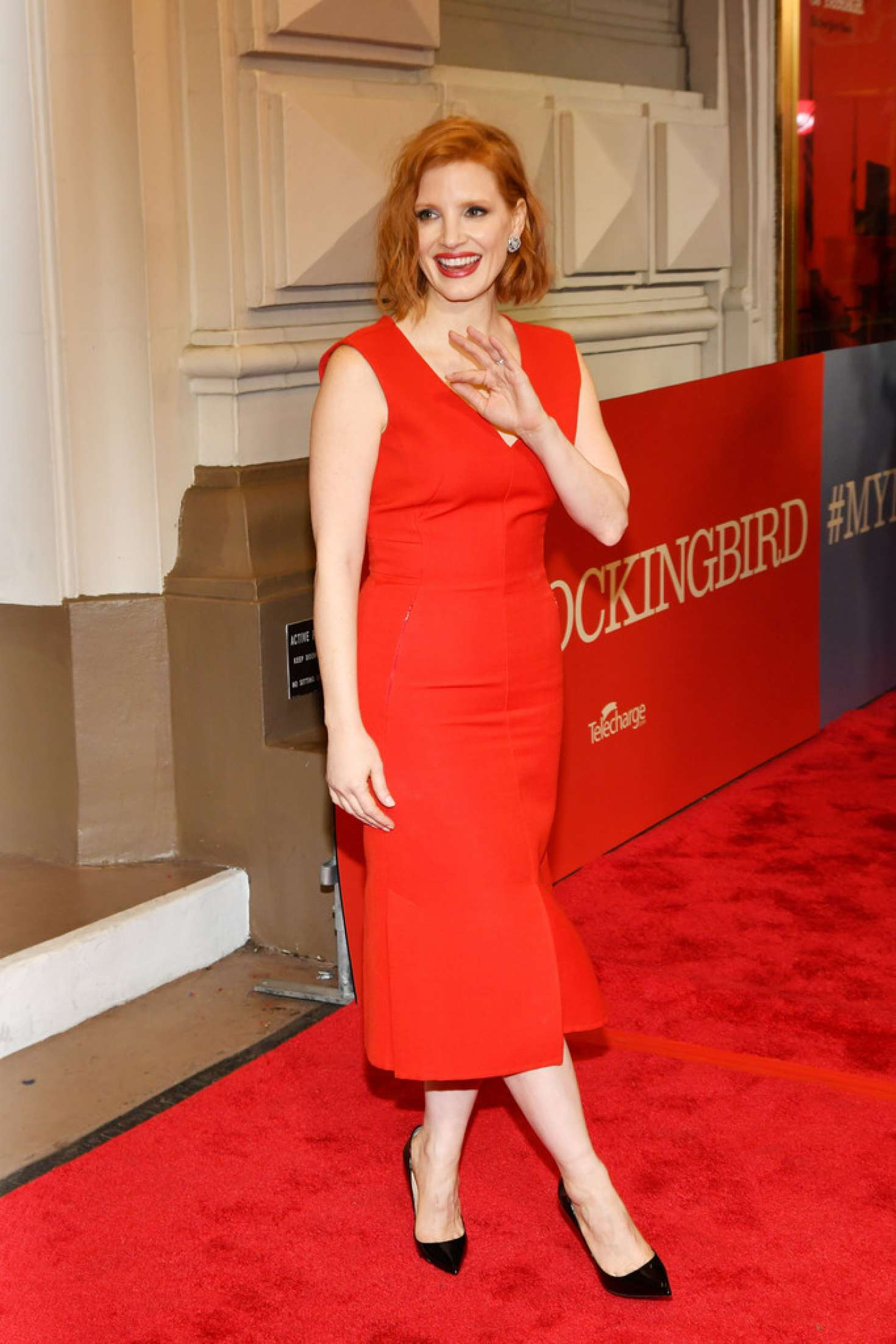 Jessica Chastain 2018 : Jessica Chastain: To Kill A Mockingbird Opening Night -02