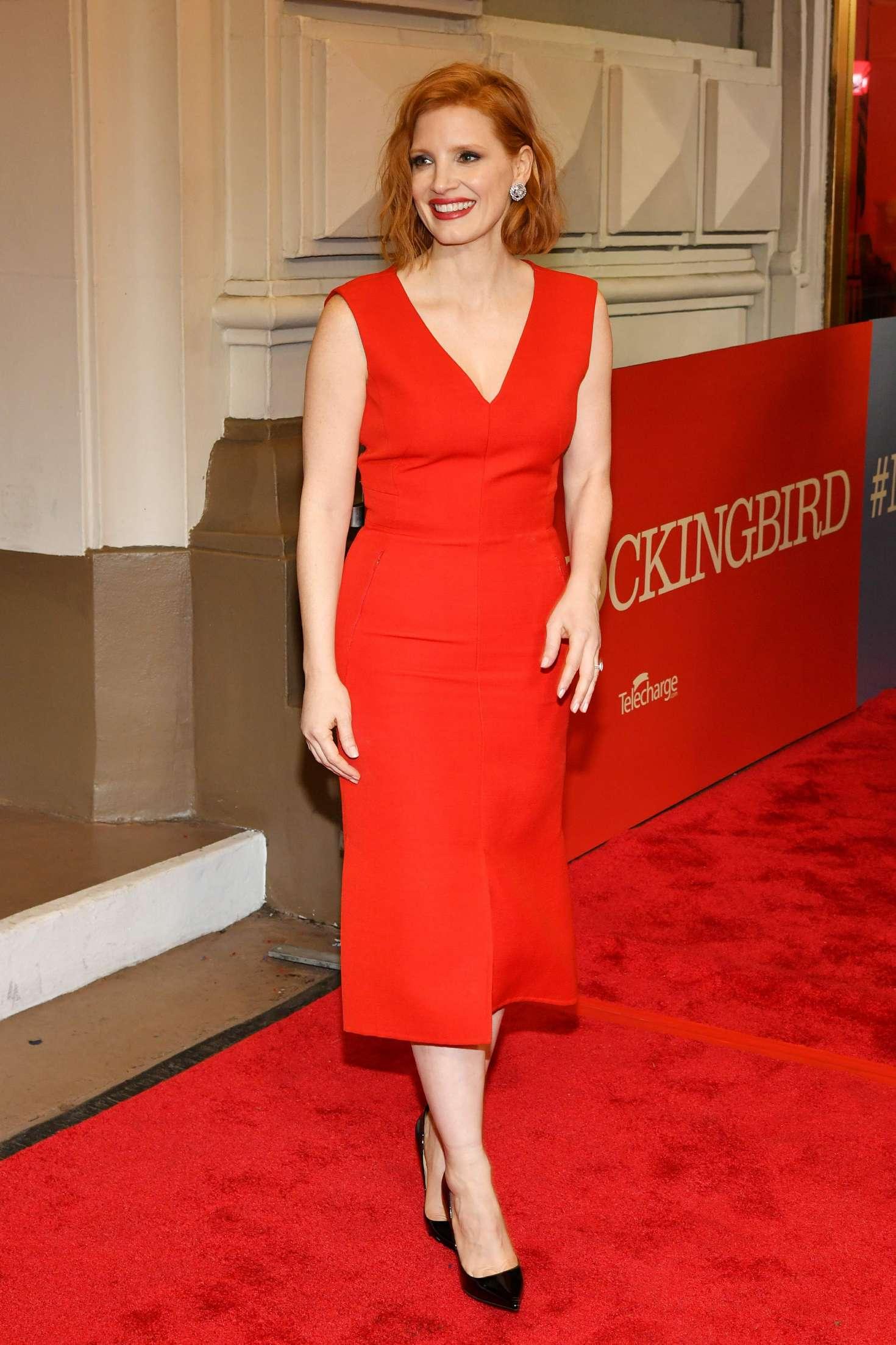 Jessica Chastain 2018 : Jessica Chastain: To Kill A Mockingbird Opening Night -05