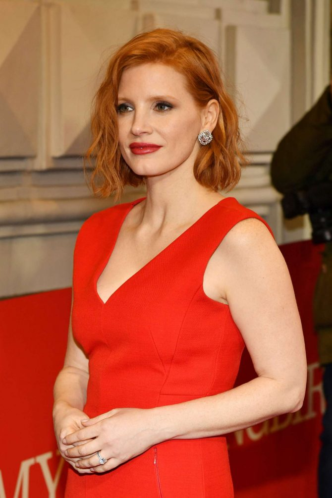 Jessica Chastain – 'To Kill A Mockingbird' Opening Night in NYC