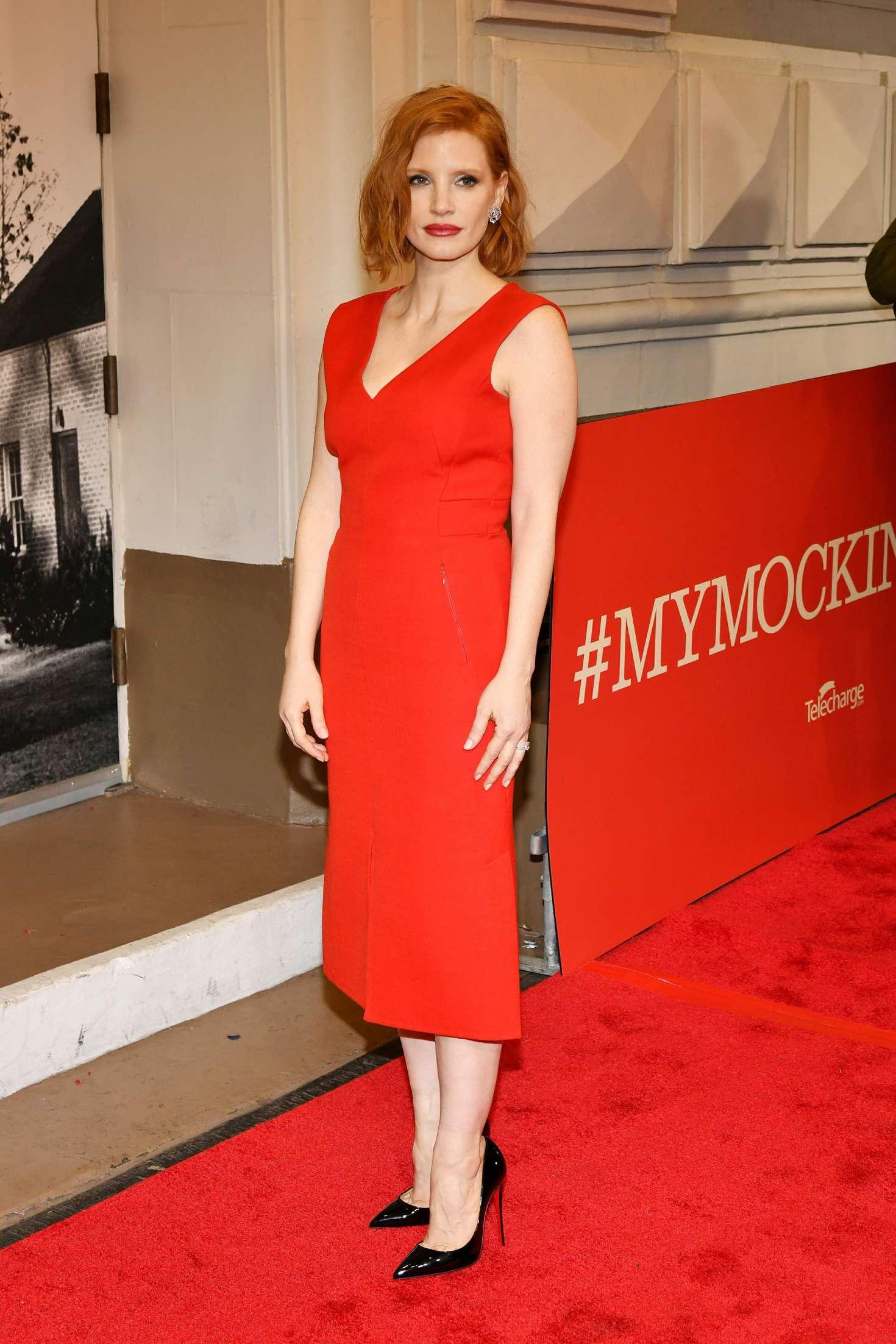 Jessica Chastain 2018 : Jessica Chastain: To Kill A Mockingbird Opening Night -08