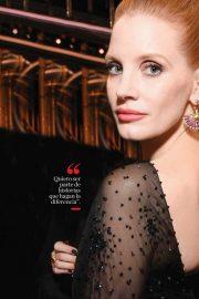 Jessica Chastain - Vanidades Magazine (Mexico - February 2020)