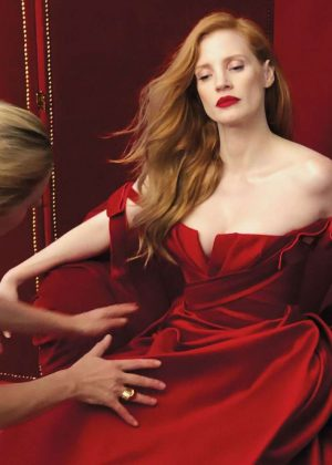 Jessica Chastain  - Vanity Fair Hollywood Issue 2018