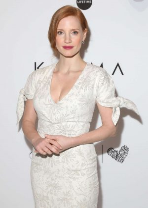 Jessica Chastain - Variety's Power of Women NY Presented by Lifetime in NY