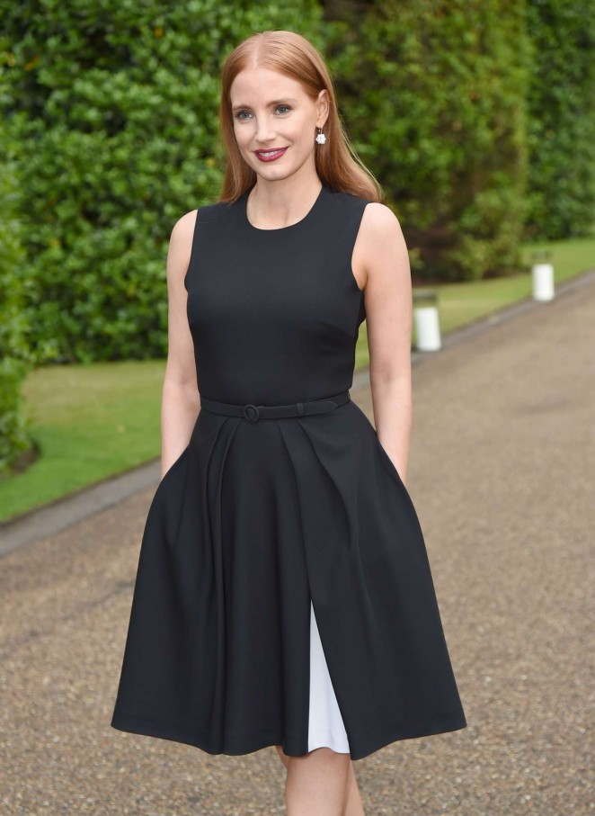 Jessica Chastain - Vogue and Ralph Lauren Wimbledon party in London