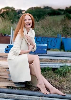 Jessica Chastain - Vogue UK Magazine (January 2016)