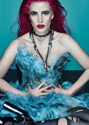 Jessica Chastain: W Magazine 2015 -02