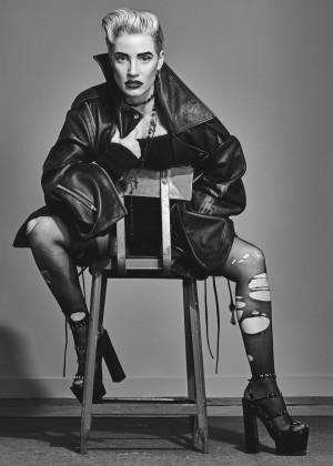 Jessica Chastain: W Magazine 2015 -05