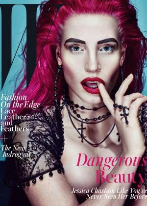 Jessica Chastain: W Magazine 2015 -08