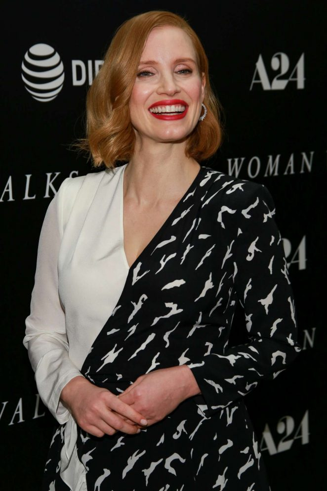 Jessica Chastain - 'Woman Walks Ahead' Special Screening in NY