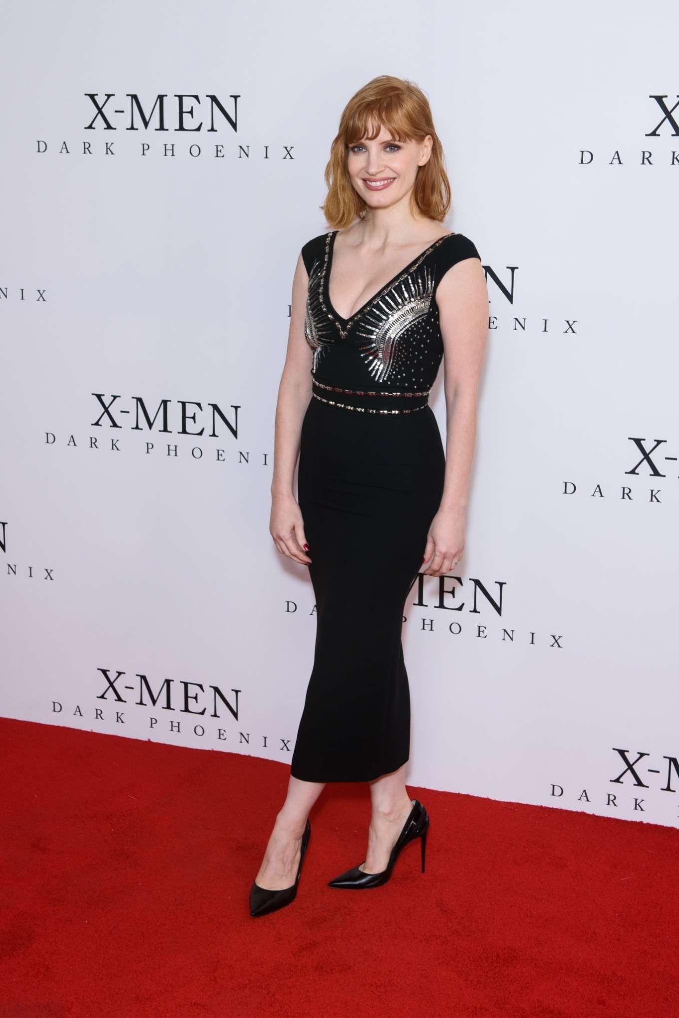 Jessica Chastain 2019 : Jessica Chastain: X-Men: Dark Phoenix  Fan Event-04