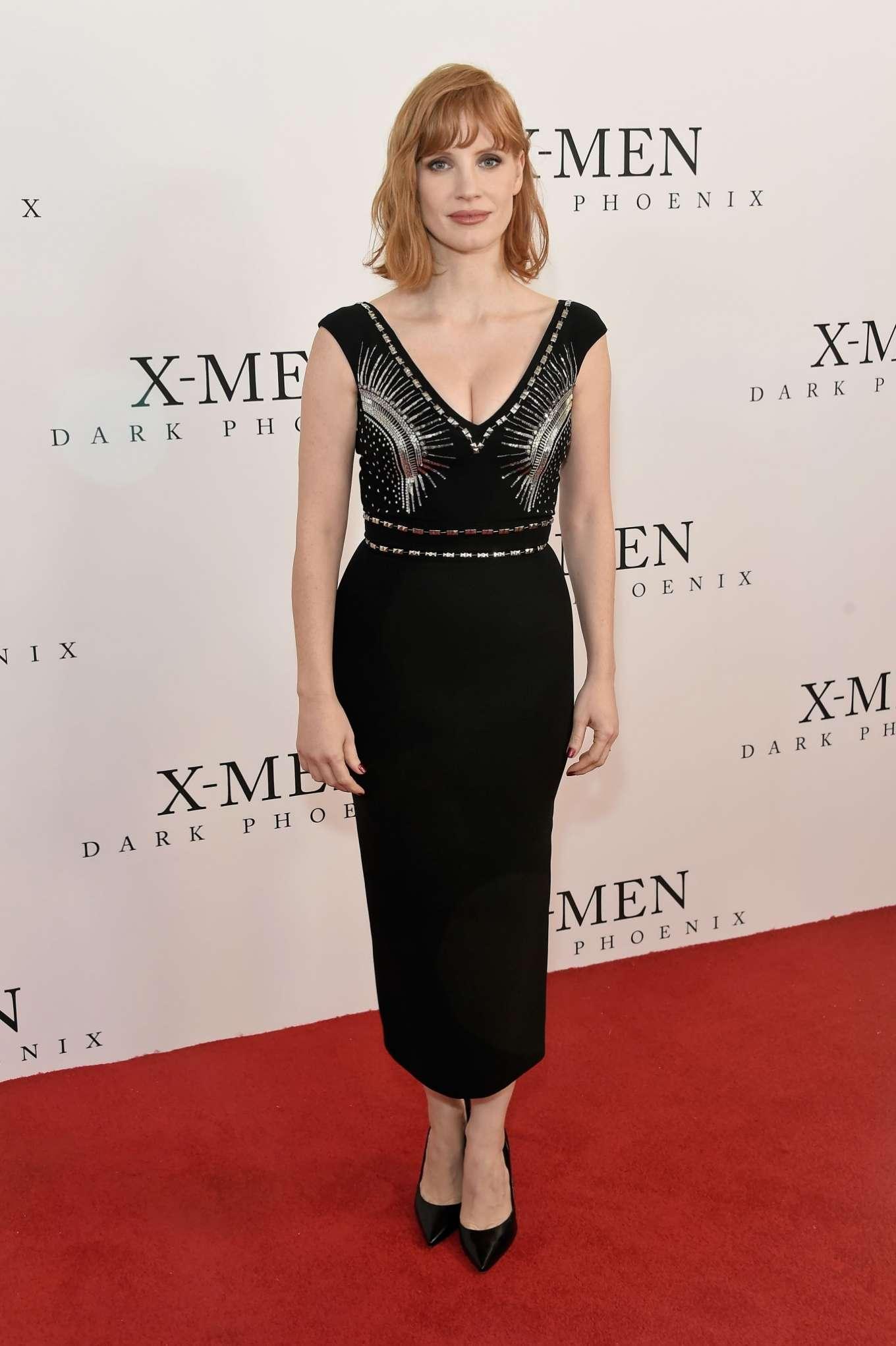 Jessica Chastain 2019 : Jessica Chastain: X-Men: Dark Phoenix  Fan Event-13