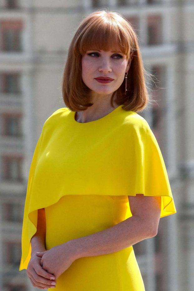 Jessica Chastain - 'X-Men Dark Phoenix' Photocall in Moscow