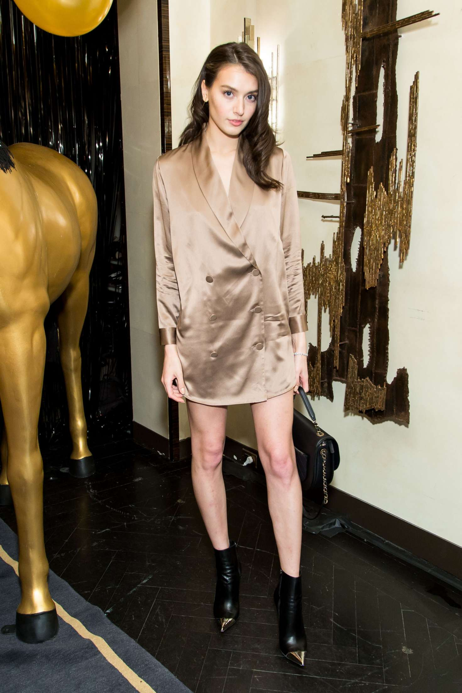 Jessica Clements - Bergdorf Goodman x Dundas Party FW 2018 in New York