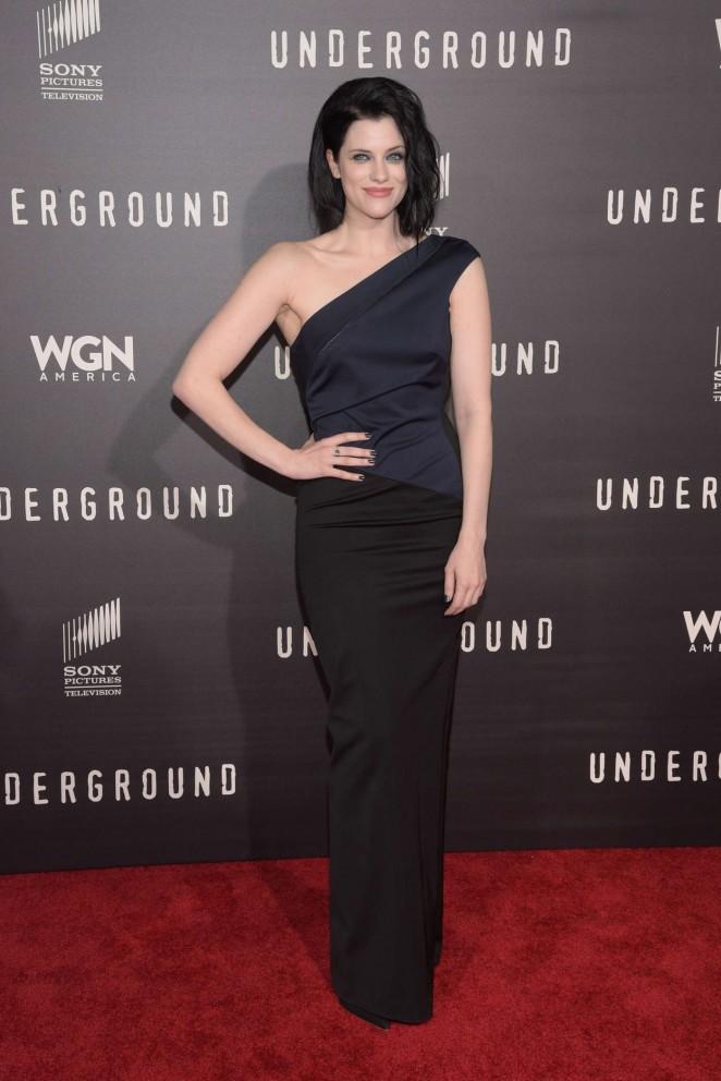 Jessica De Gouw – 'Underground' Premiere in LA