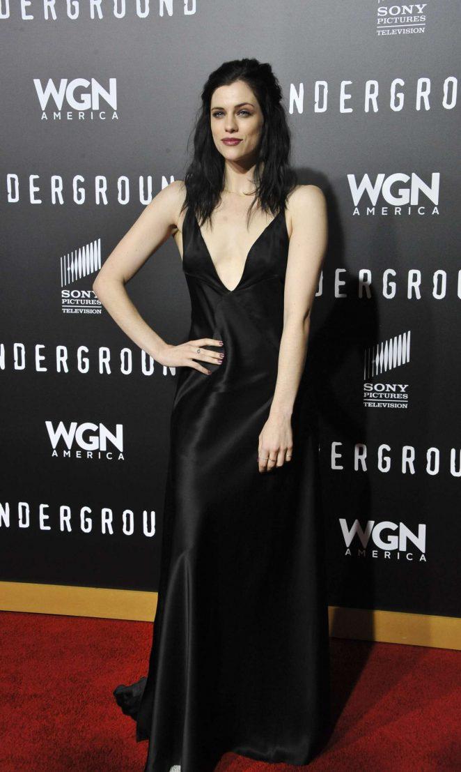 Jessica de Gouw: Underground TV Series Season 2 Premiere -01